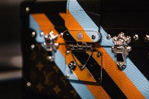 Louis Vuitton Monogram Canvas with Multicolor Stripe Pattern Petite Malle Bag - Pre-Fall 2016