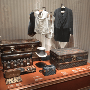 Louis Vuitton Vintage Trunks and Clothing