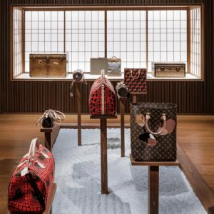 Louis Vuitton Yayoi Kusama and Rei Kawakubo Bags