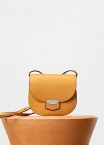 Celine Daffodil Supersoft Calfskin Small Trotteur Shoulder Bag