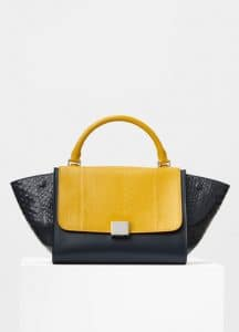 Celine Imperial Multicolor Shiny Python Small Trapeze Bag