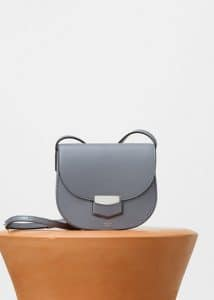 Celine Storm Supersoft Calfskin Small Trotteur Shoulder Bag