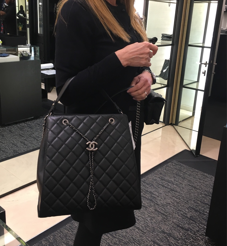 Chanel Cc Bucket Bag Reference Guide Spotted Fashion