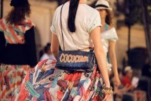 Chanel Blue/Orange Sequin Coco Cuba Flap Bag - Resort 2017