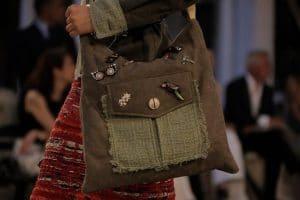 Chanel Brown Suede Embellished Messenger Bag - Resort 2017