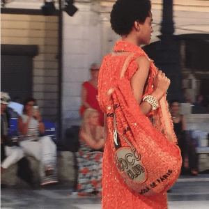 Chanel Orange Coco Club Bacpack Bag 2 - Cruise Cuba 2017 Collection