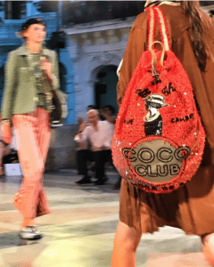 Chanel Orange Coco Club Bacpack Bag - Cruise Cuba 2017 Collection