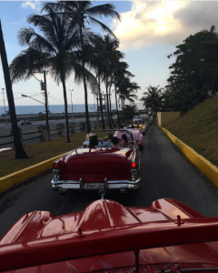 Chanel Vintage Cars - Cruise Cuba 2017 Collection