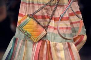 Chanel Yellow Multicolor Boy Bag - Resort 2017