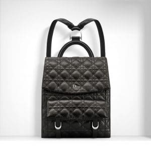 Dior Black Stardust Backpack Bag