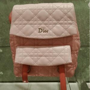 Dior Orange/Pink Stardust Backpack Small Bag