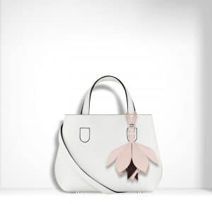 Dior White Small Dior Blossom Bag