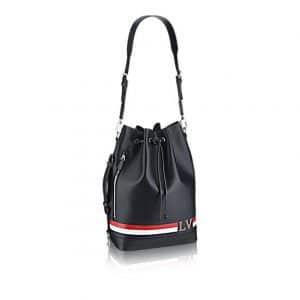 Louis Vuitton Black Epi Noe Marin Bag