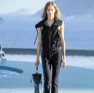 Louis Vuitton Black Fringed Mini Hobo Bag - Cruise 2017