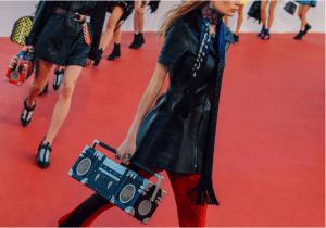 Louis Vuitton Black Petite Malle Boombox Bag - Cruise 2017