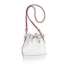 Louis Vuitton Blanc Mat Noe BB Bag
