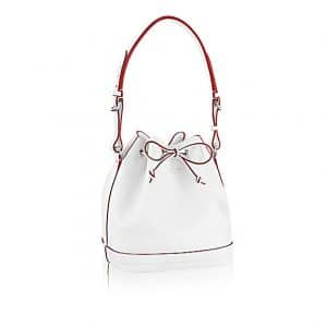 Louis Vuitton Blanc Mat Noe PM Bag