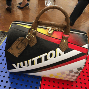 Louis Vuitton Grand Prix Print Speedy Bag 3 - Cruise 2017