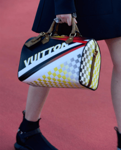 Louis Vuitton Grand Prix Print Speedy Bag - Cruise 2017