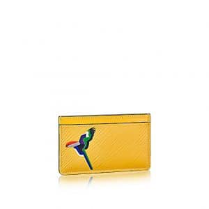 Louis Vuitton Jonquille Parrot Card Holder