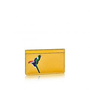 Louis Vuitton Jonquille Parrot Card Holder