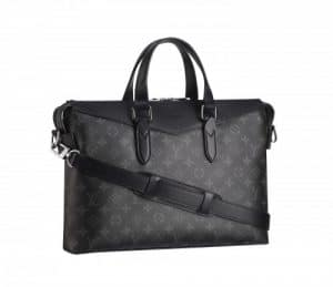 Louis Vuitton Monogram Eclipse Briefcase Explorer Bag