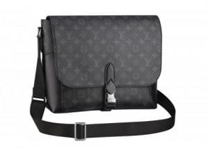 Louis Vuitton Monogram Eclipse Messenger Explorer Bag