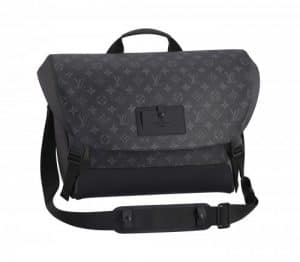 Louis Vuitton Monogram Eclipse Messenger Voyage Bag