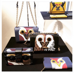 Louis Vuitton Owl Twist and Petite Malle Bags