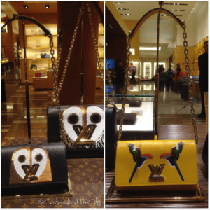 Louis Vuitton Owl and Parrot Twist Bags