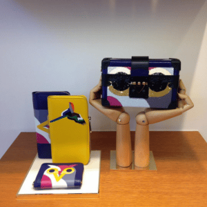 Louis Vuitton Parrot and Owl Wallets and Petite Malle Bag
