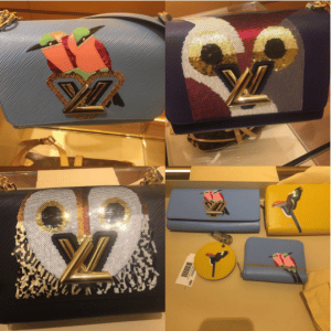 Louis Vuitton Tropical Birds and Owl Twist Bags