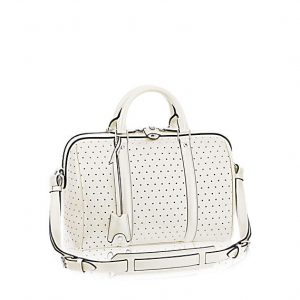 Louis Vuitton White Perforated SC PM Bag
