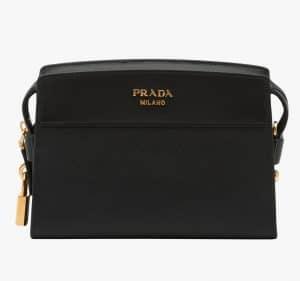 Prada Black Esplanade Shoulder Bag