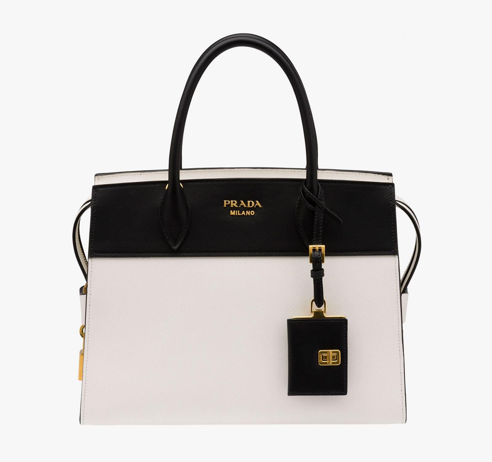 Black And White Pradas Prada Cross Body Bag Sale