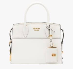 Prada White Esplanade Small Bag