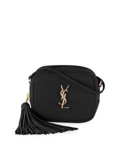Saint Laurent Black Monogram Blogger Crossbody Bag