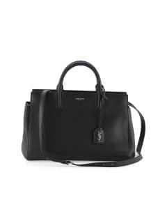 Saint Laurent Black Rive Gauche Small Bag