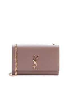 Saint Laurent Blush Monogram Kate Small Shoulder Bag