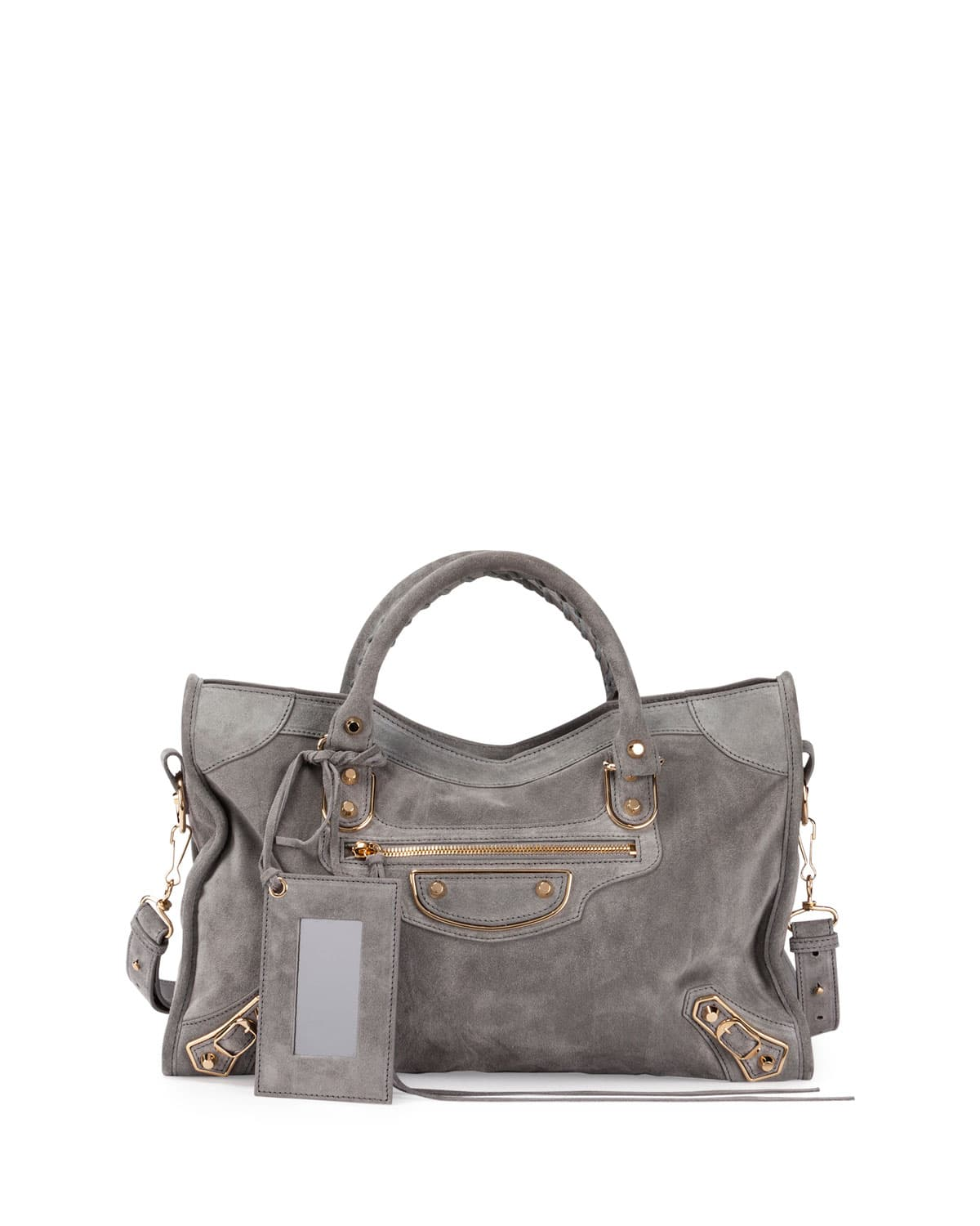 Balenciaga Metallic Edge City Satchel Bag Ec1VBG7