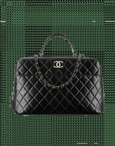 Chanel Black Trendy CC Bowling Bag