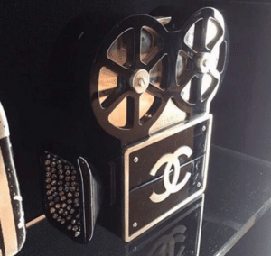 Chanel Film Projector Buonasera Minaudiere Bag 10