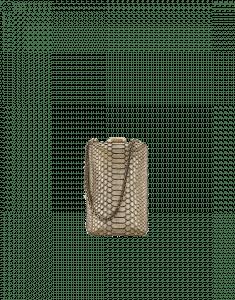 Chanel Gold Python Kiss-Lock Minaudiere Bag