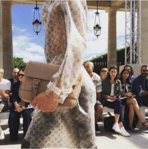 Louis Vuitton Beige Ostrich Messenger Bag - Spring 2017