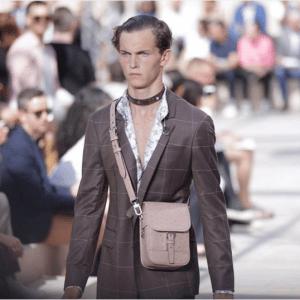 Louis Vuitton Beige Ostrich Mini Messenger Bag - Spring 2017