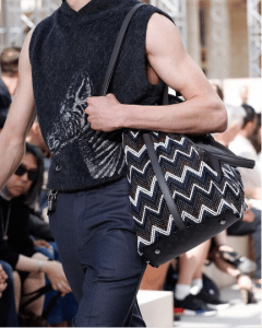 Louis Vuitton Black Multicolor Woven Shoulder Bag - Spring 2017