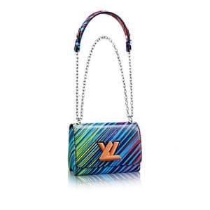 Louis Vuitton Blue Multicolor Epi Twist MM Bag