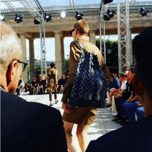 Louis Vuitton Encre Monogram Canvas Backpack Bag - Spring 2017