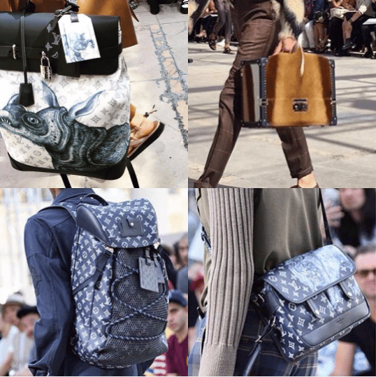 f635da9674 Louis Vuitton Men s Runway Bag Collection - Spring 2017. IG  ptagram