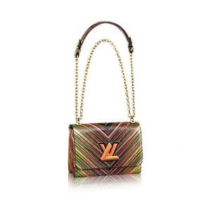 Louis Vuitton Red Multicolor Epi Twist MM Bag